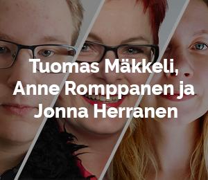 Tuomas, Anne ja Jonna
